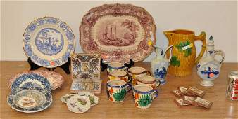 Group Pottery Items