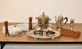 Group Silverplate Items