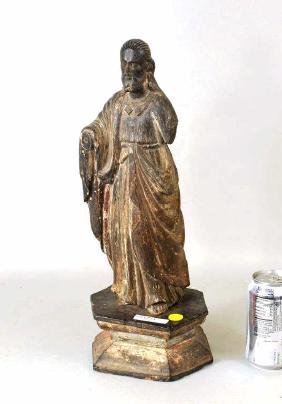 Philippine Carved Santos Figure of Christ