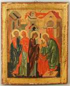 Icon Of The Presentation At The Temple