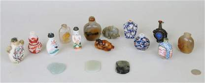 Group Chinese Snuff Bottles