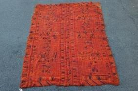 Indian Chain Stitch Rug