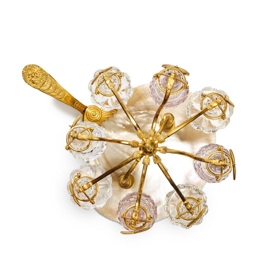 1820s Charles X Baccarat perfume carousel - 2