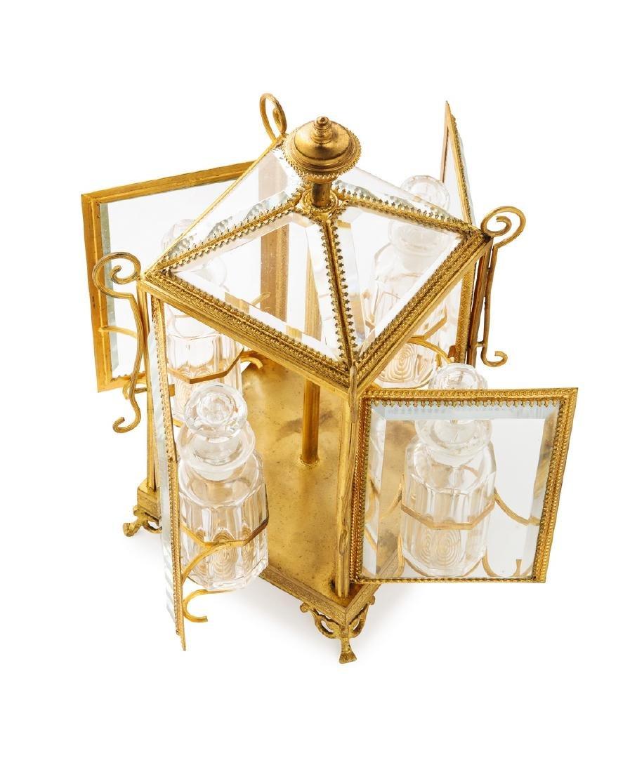 1880s Mechanical 4 -perfume bottle case - 2