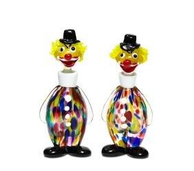 1950s Irice Venetian blown glass perfumes