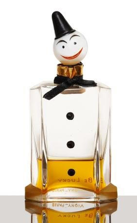 1925 Baccarat - Vigny Be Lucky perfume bottle,