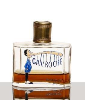 1930 Baccarat - Tchaker Gavroche perfume bottle