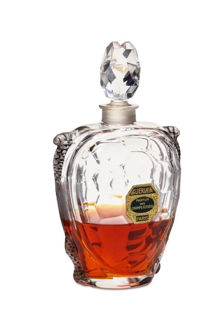 1904 Guerlain Champs Elysees perfume bottle