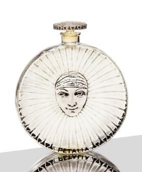 1923 R. Lalique - Tokalon Petalia bottle