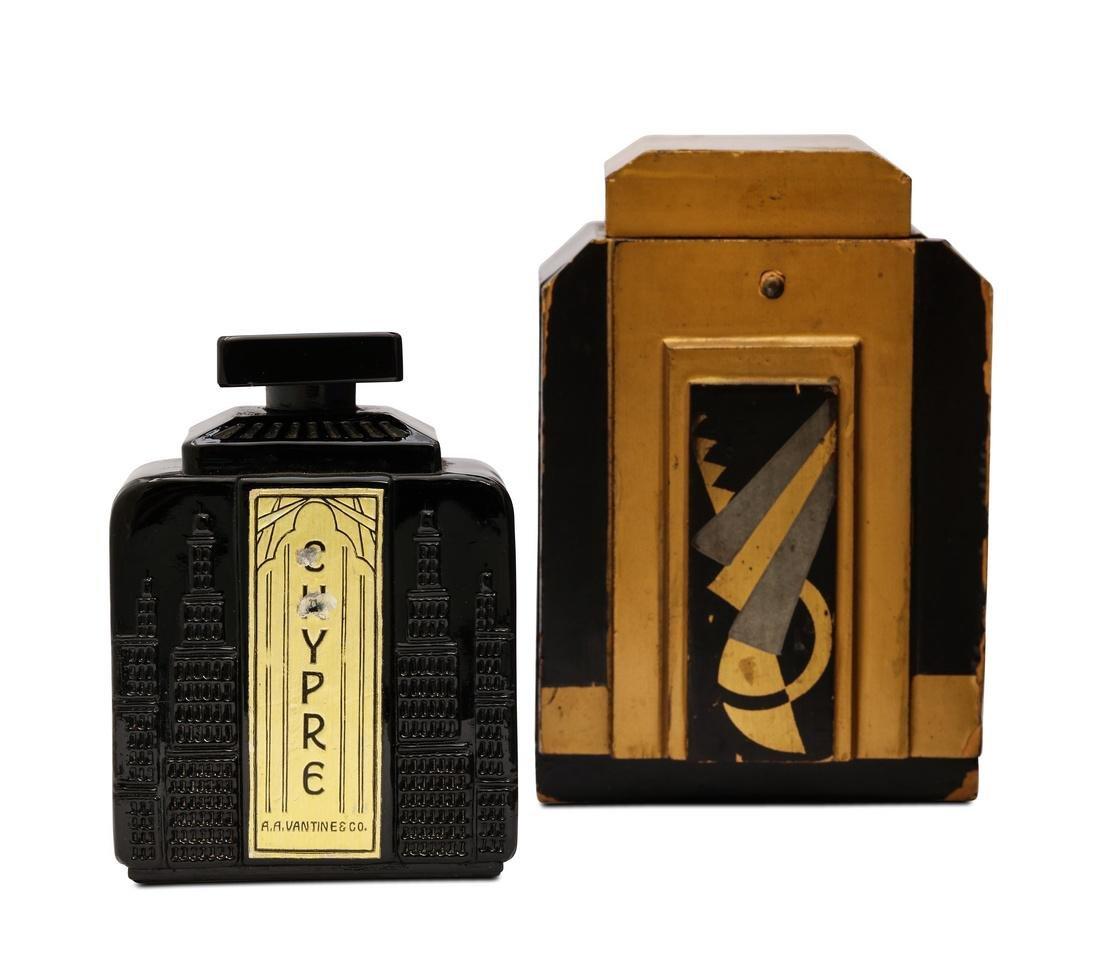 1923 Vantines Chypre black perfume bottle
