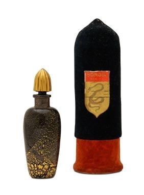1922 Rosine Borgia perfume bottle