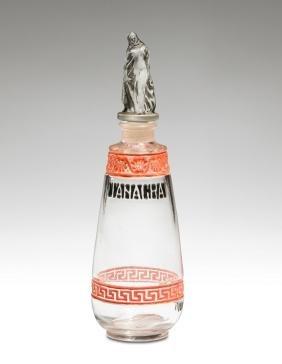 1922 Lucien Gaillard - Violet Tanagra bottle
