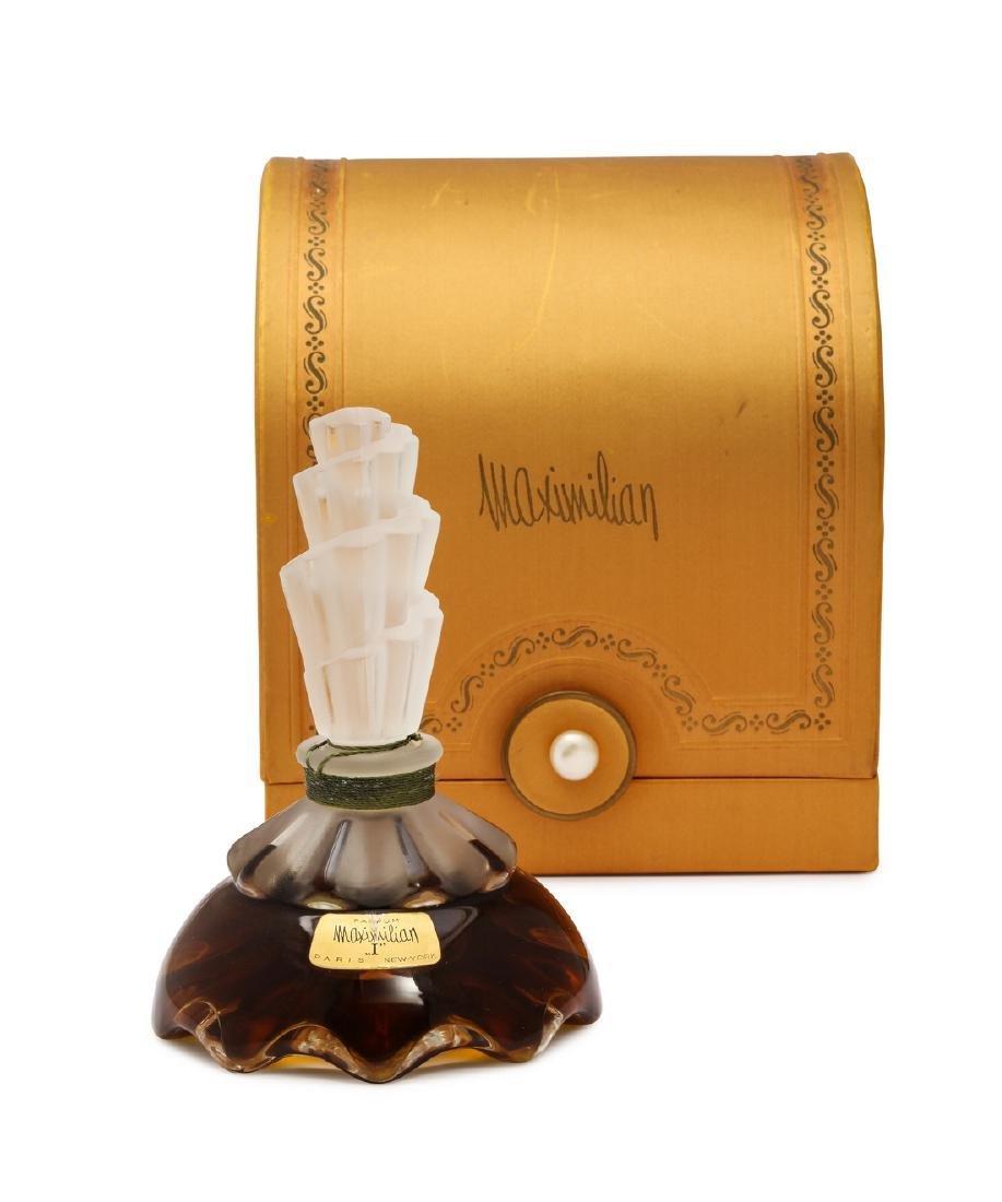 "1930s Maximilian ""I"" perfume bottle"
