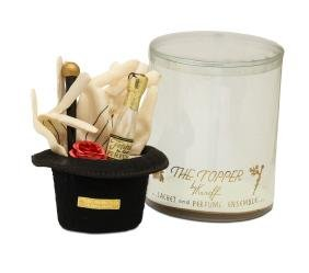 """1938 Karoff """"The Topper"""" perfume set"""