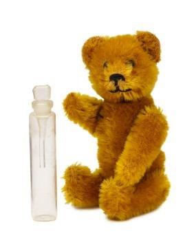 1920s Schuco teddy bear perfume bottle