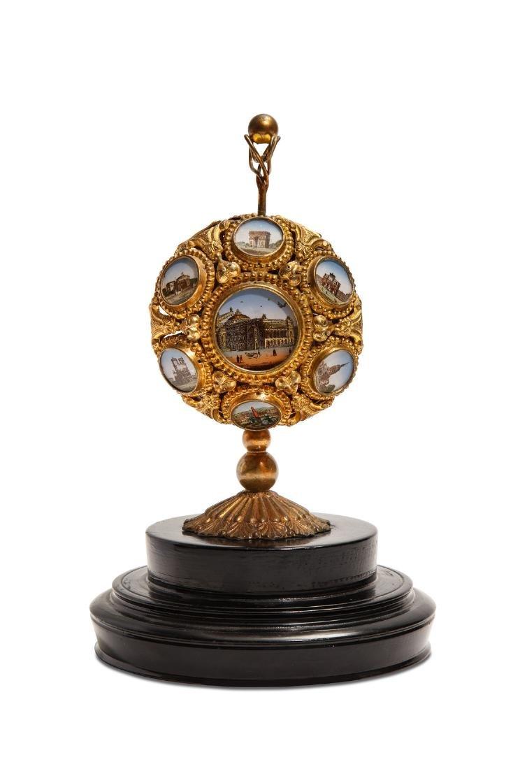 1880s Palais Royal mechanical perfume case