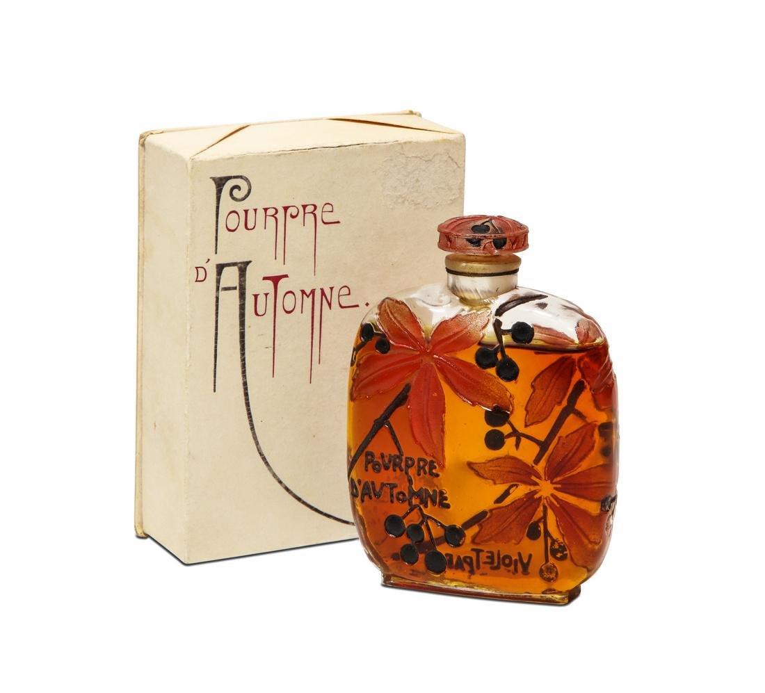 1922 Gaillard - Violet  Pourpre d'Automne  perfume