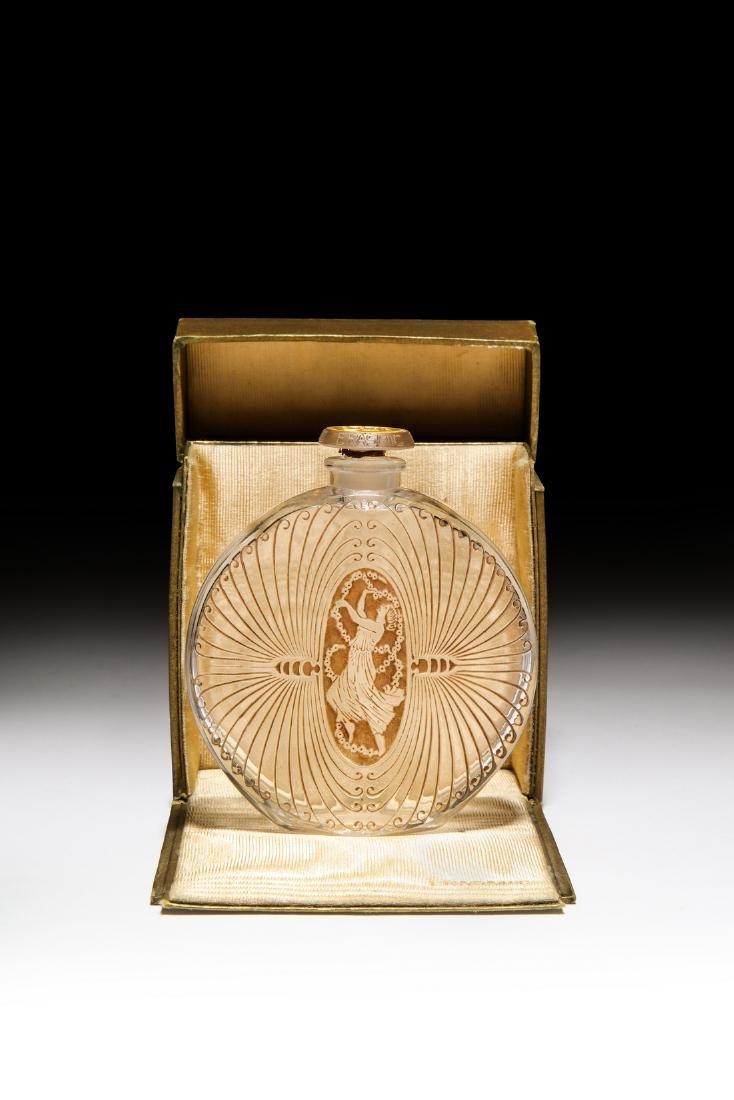 1925 R. Lalique for Erasmic  de Lui  perfume bottle