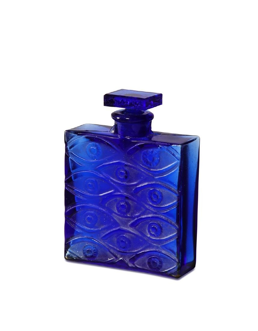 1928 R. Lalique for Canarina perfume bottle