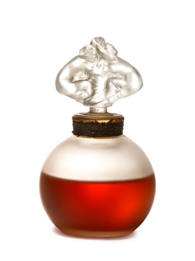 1946 Mark Lalique for  Plaisir  perfume bottle