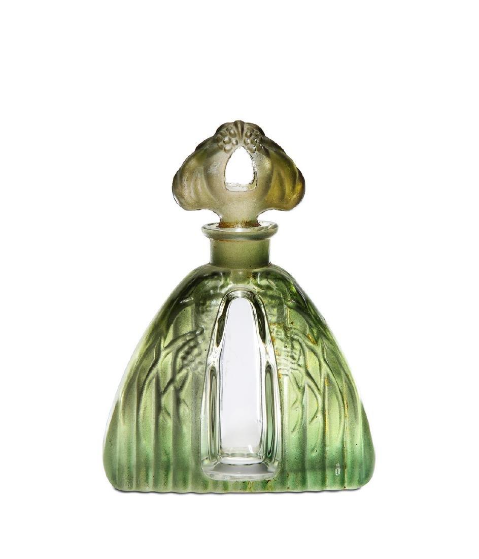 c1930 Czechoslovakian, Schmidt crystal bottle