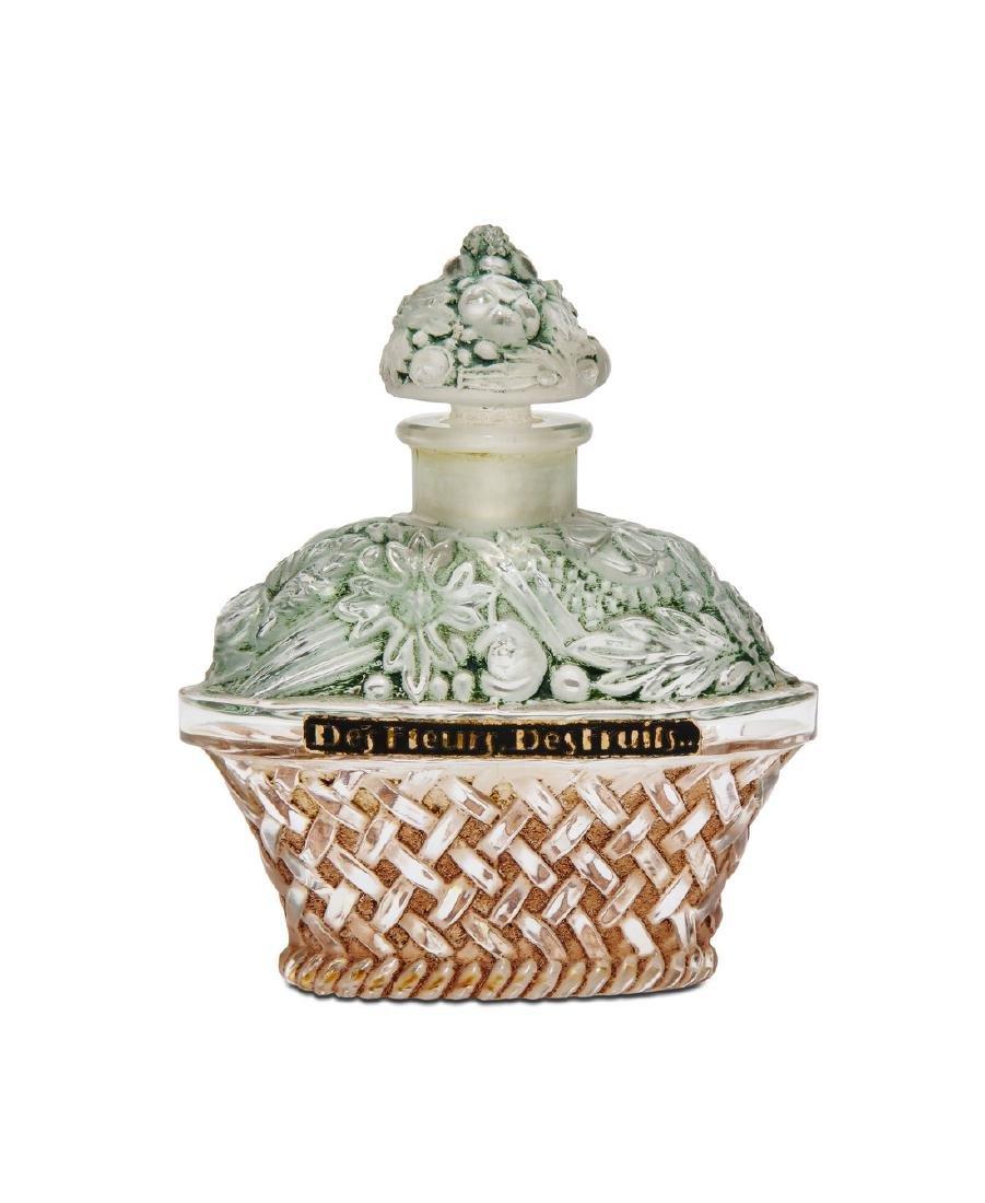 1920s J.Viard  Des Fleurs, Des Fruits  perfume bottle
