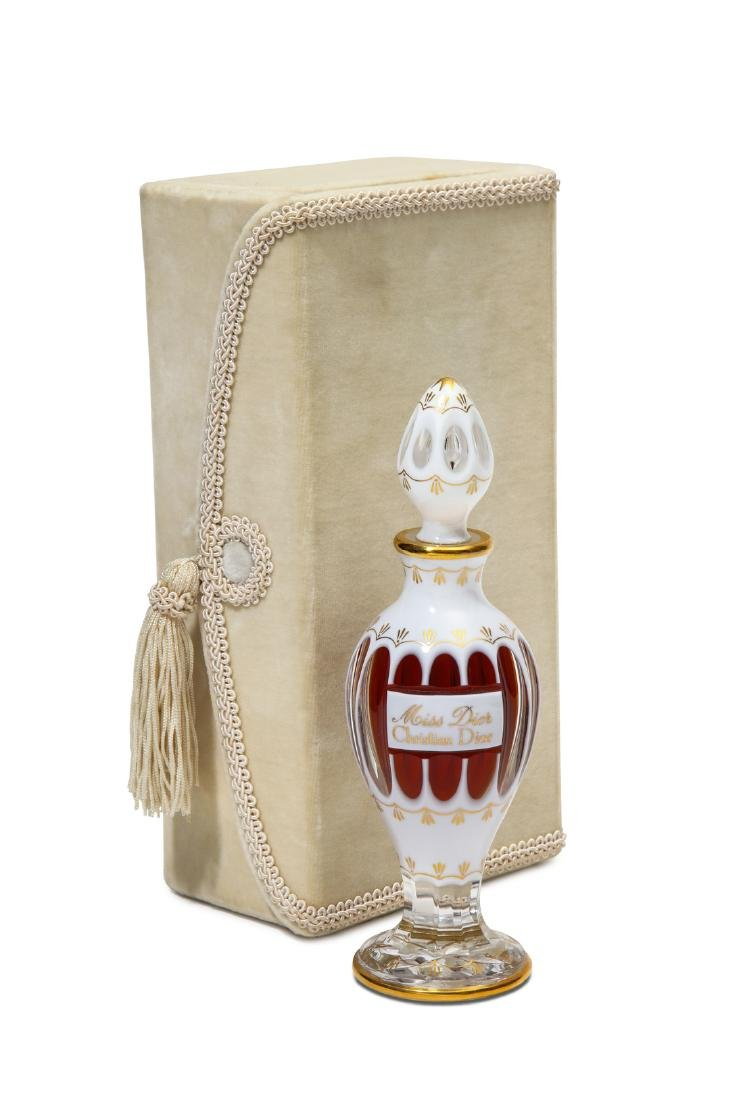 1947 Baccarat - Dior  Miss Dior  perfume bottle