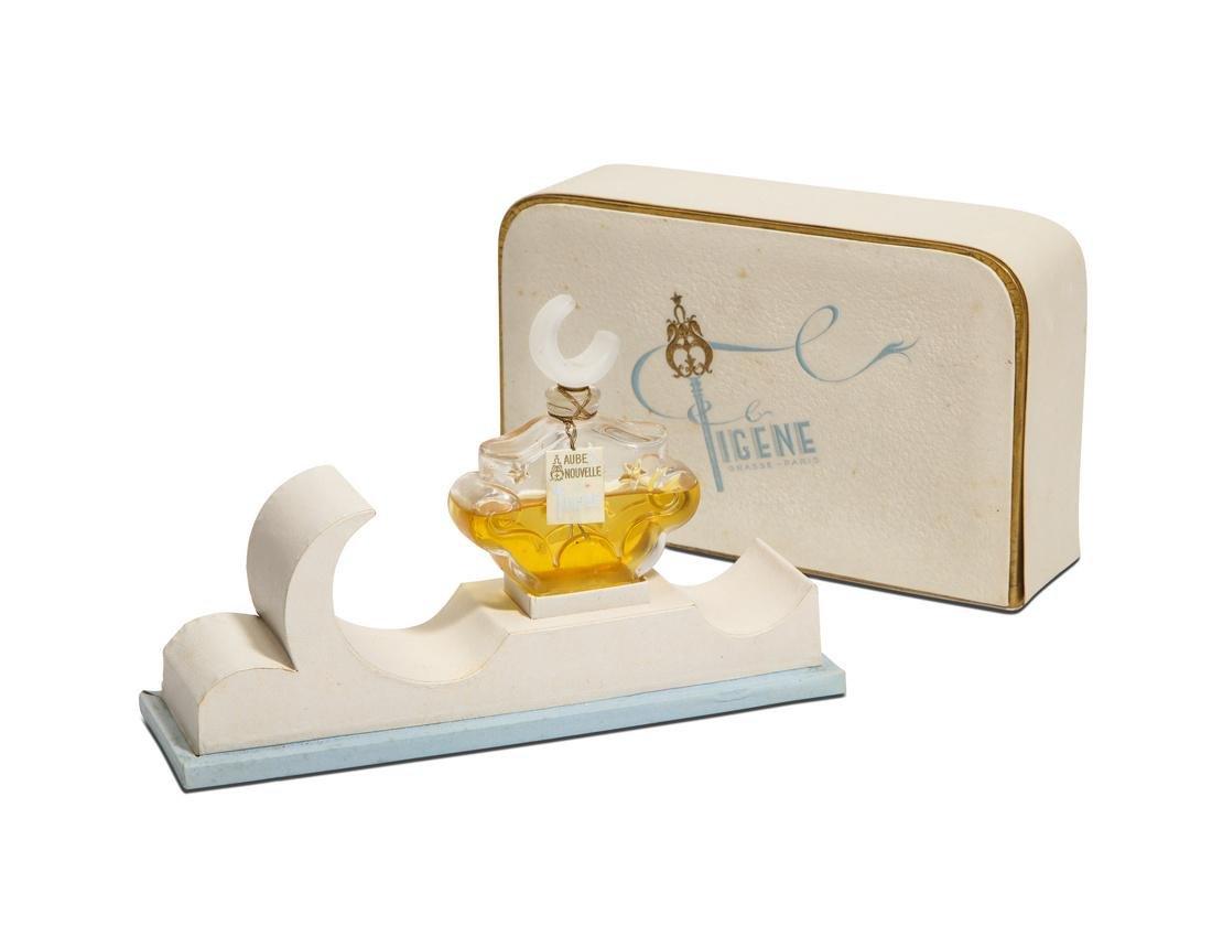 1940s Figene  Aube Nouvelle  perfume bottle