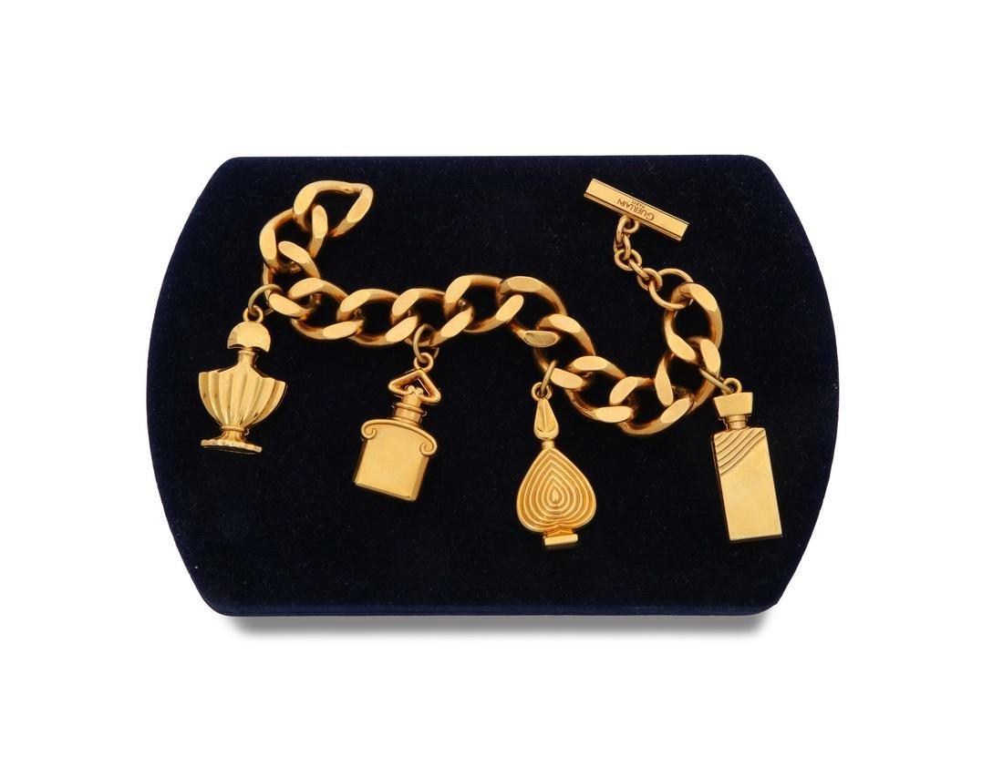 1982 Perfume Bottle Charm Guerlain Bracelet RjL5c4q3AS