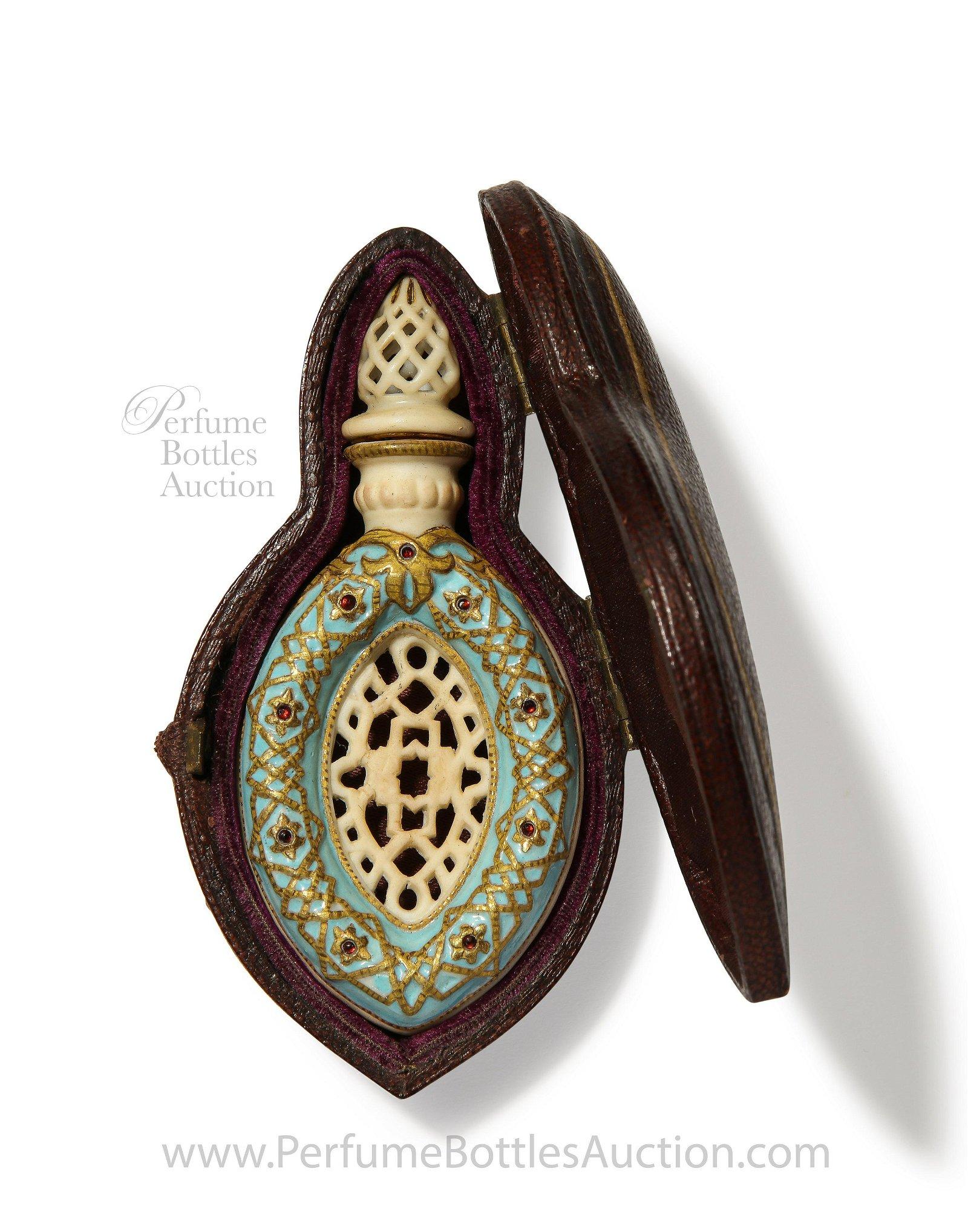 1870s Royal Worcester Antique Scent Bottle