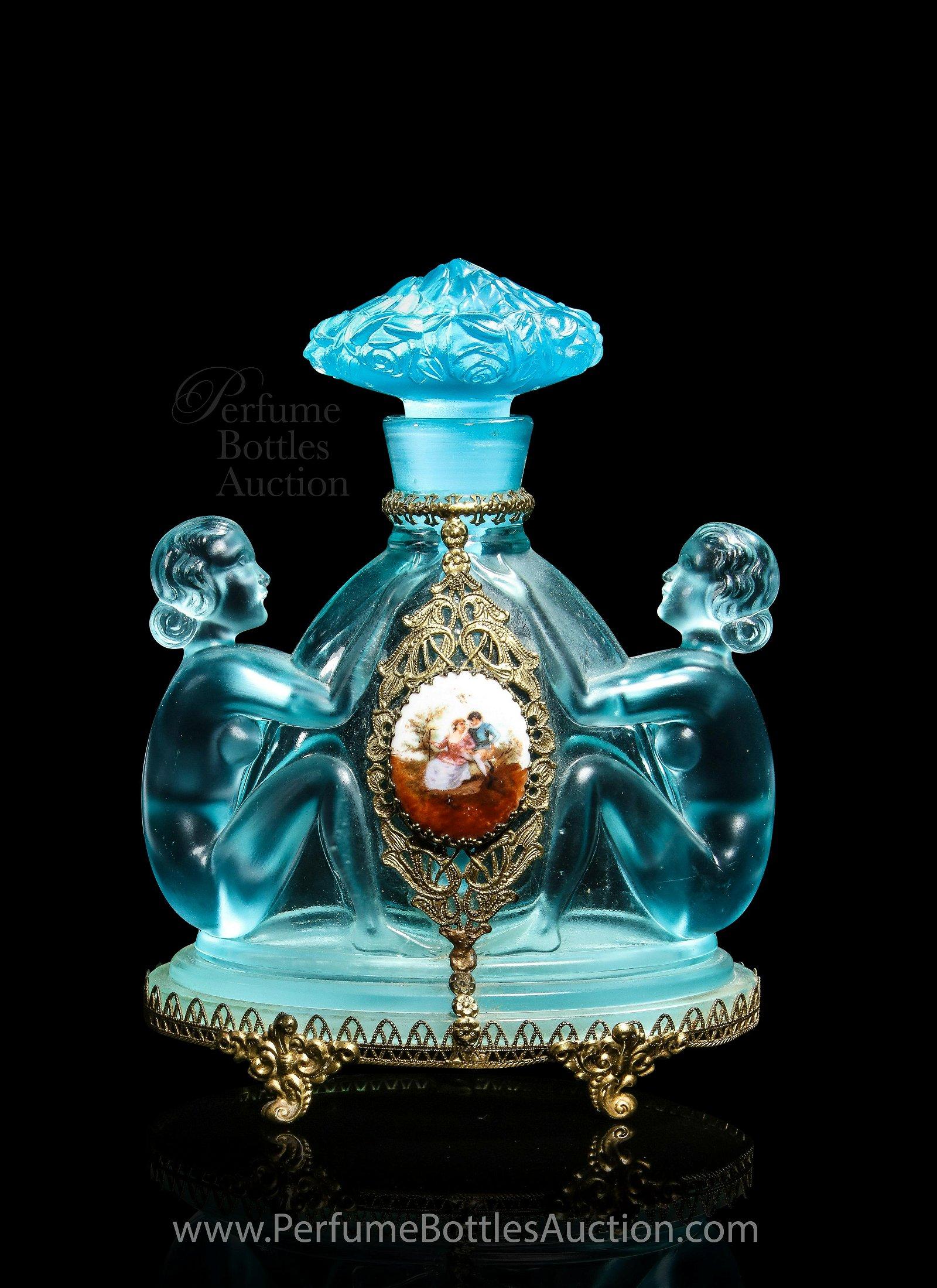 c1930 Czechoslovakian, Josef Inwald art deco perfume