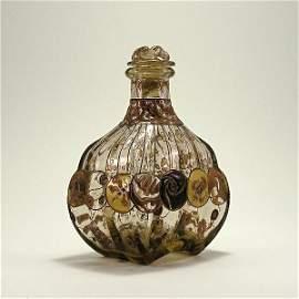 6: 1880s Emile Galle Art Nouveau Perfume Bottle