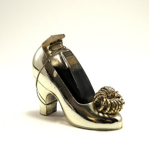 121: 1950s Coty Emeraude Perfume in Shoe