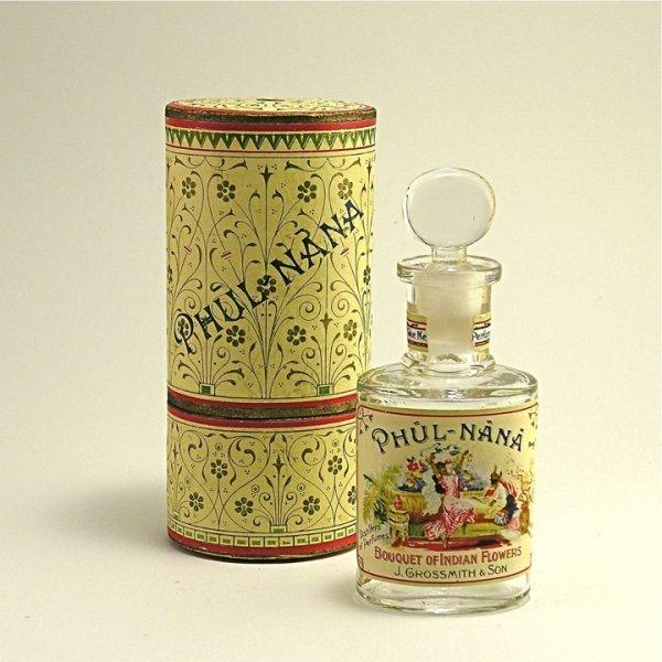 145A: 1893 Grossmith Phul-Nana Perfume Bottle