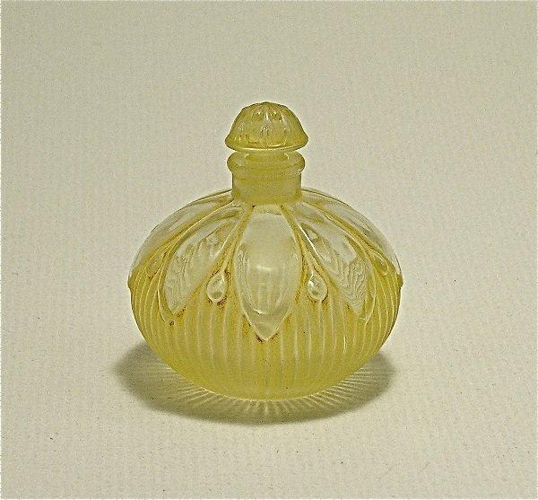 148: Viard 1920s Delettrez Ambre Perfume Bottle