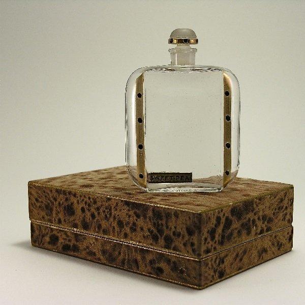 157: 1920s Renaud Sweet Pea Perfume Bottle