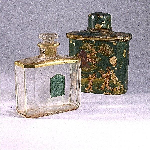 163: 1920s Lubin, L'Ocean Bleu Perfume Bottle