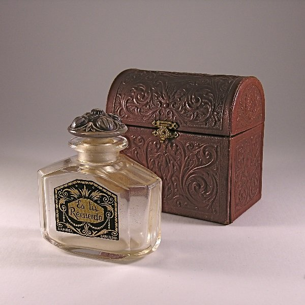 166: 1920s Sambel Es Tu Recuerdo Perfume Bottle