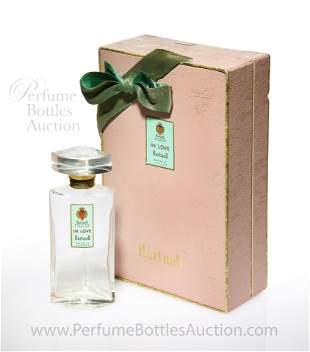 """1957 Norman Hartnell, """"In Love"""" perfume bottle"""