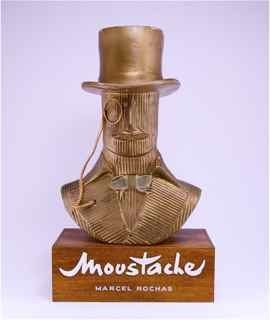 231: 1947 Marcel Rochas Moustache Counter Display