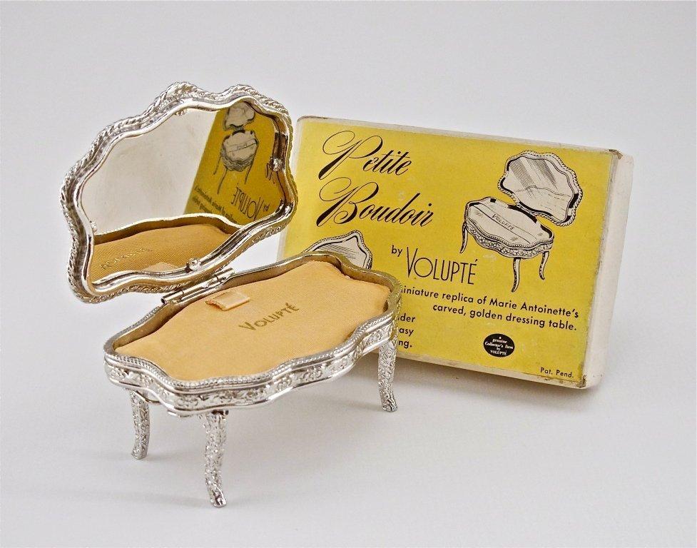 "43: 1940s Volupte ""Petite Boudoir"" Unused Compact"