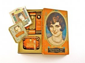 1920s Princess Pat Travel Vanity Set
