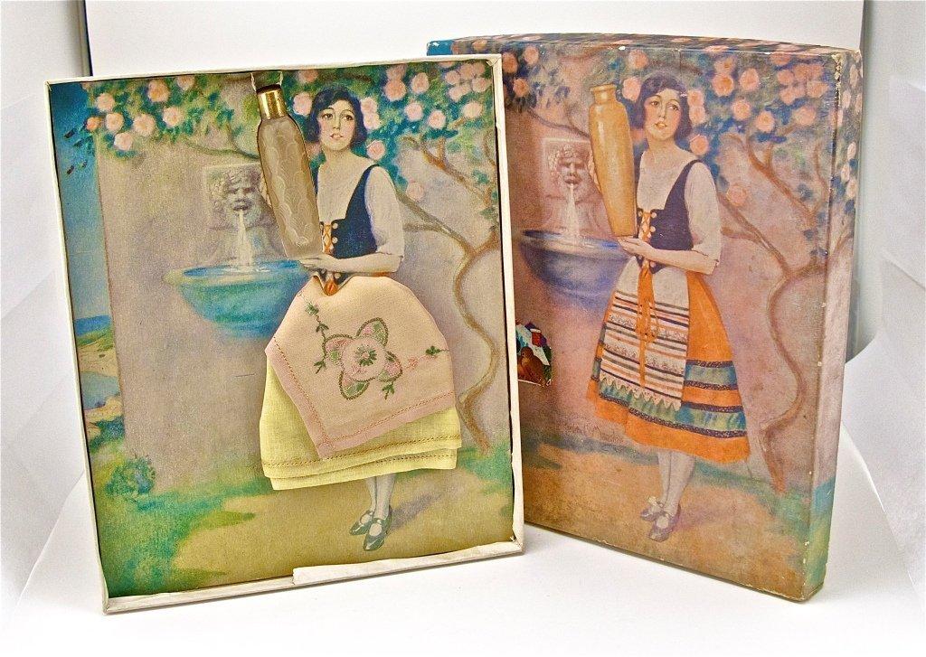 122: 1929 American Drugstore Perfume Gift Set