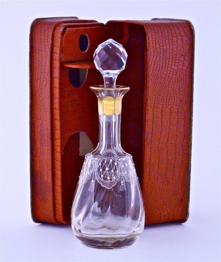 124: 1893 Lazell's Mignonette Perfume Bottle