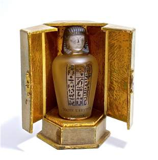 1917 Baccara Monne Toute l'Egypte Perfume Bottle