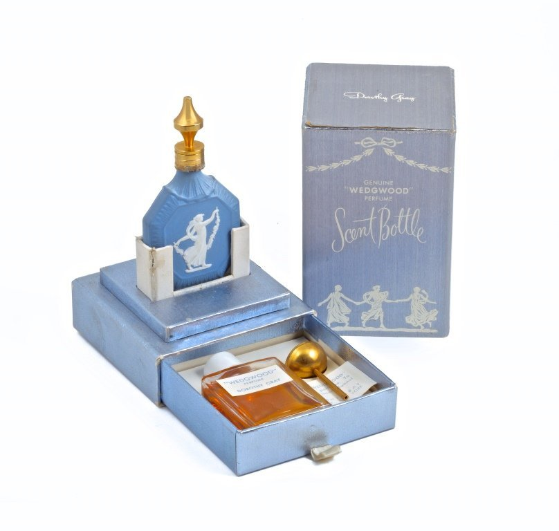 1953 Dorothy Gray Wedgwood Perfume Bottle
