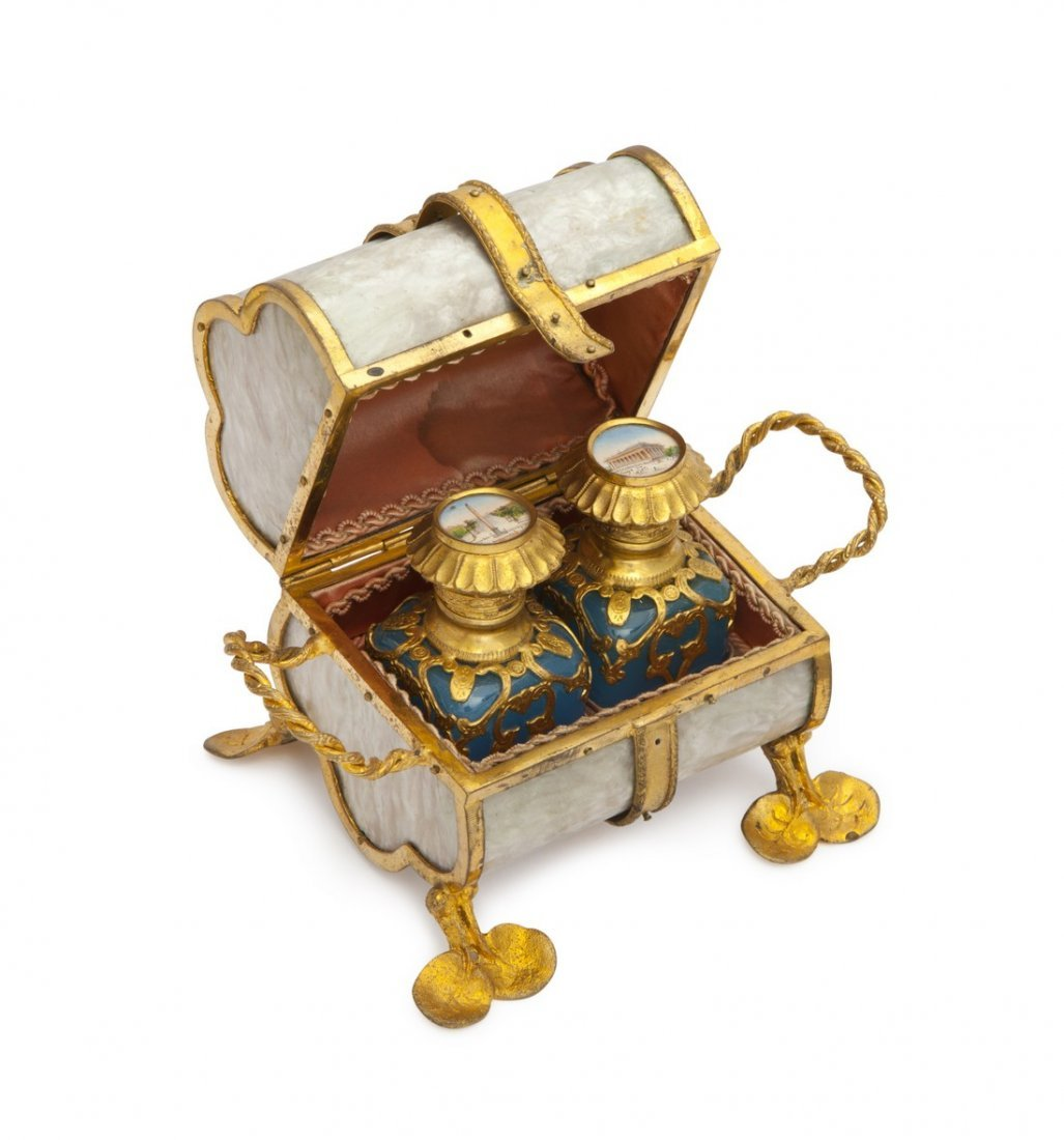 1870s Palais Royal perfume chest