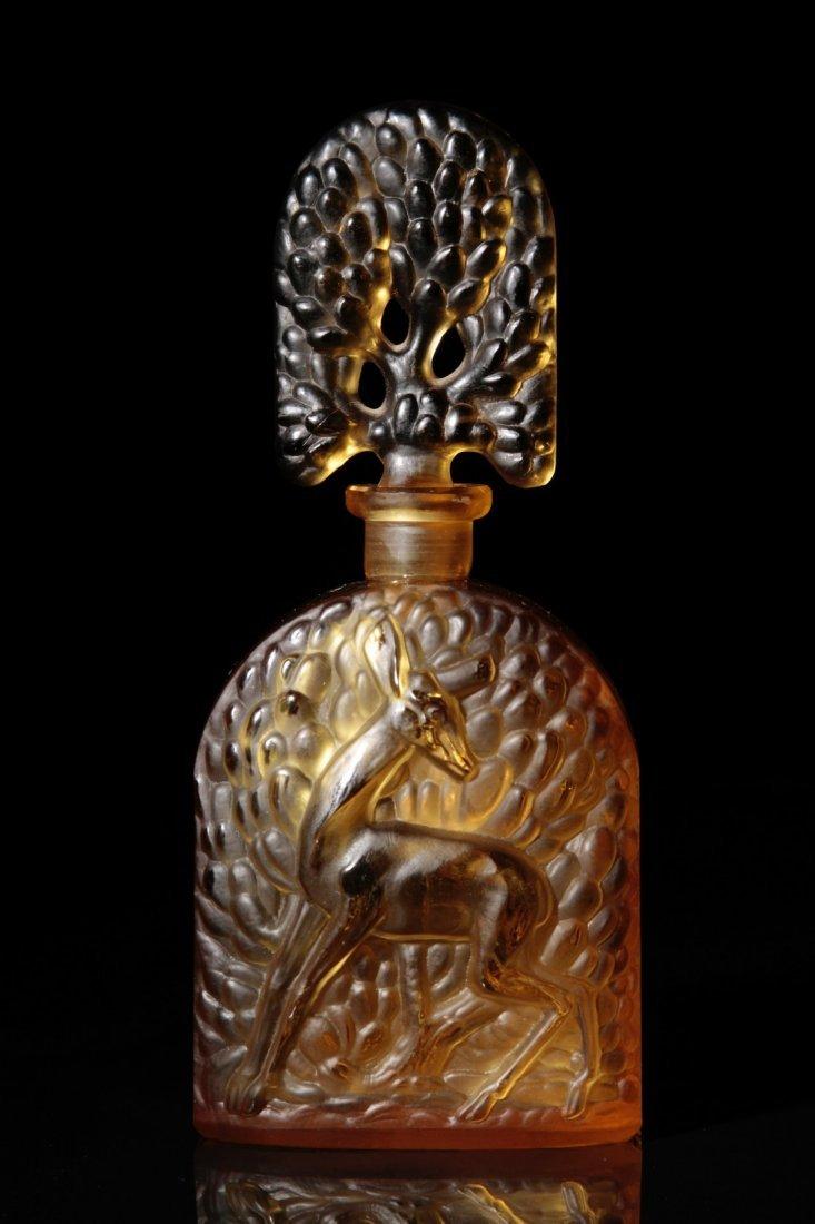 Czech perfume bottle for Langlois Shari