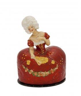 "1920 ""terre De Retz"" Figural Powder Box"