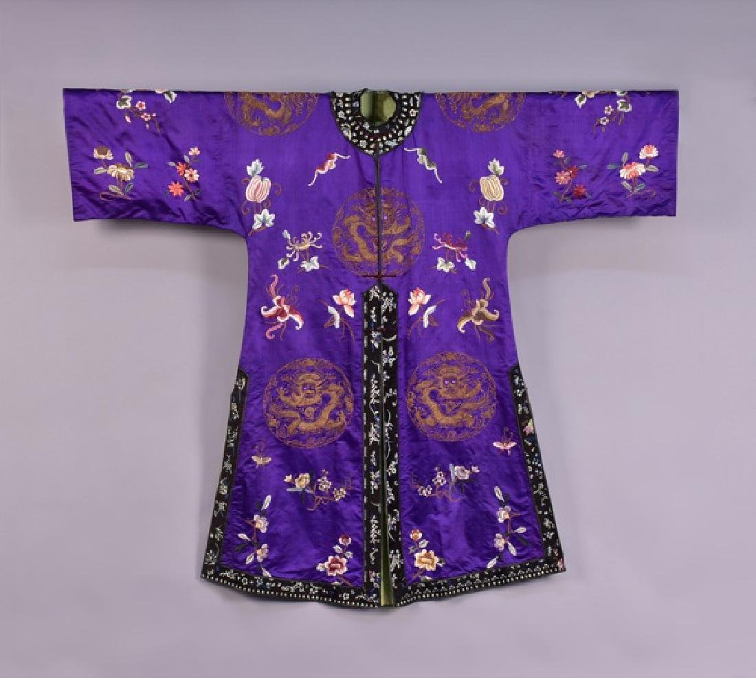 CHINESE DRAGON ROBE, EARLY 20th C